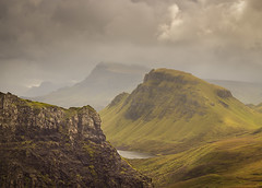 A Ridge to Remember (sampost) Tags: isle skye scotland snapshot ridgeline quiraing highlands uk travel memories