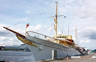 KONGESKIBET DANNEBROG  -  (Her Danish Majesty's Yacht 'Dannebrog')