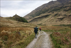 Monument on the Barrisdale track (5/16 an011) (Ted and Jen) Tags: knoydart tgoc scotland greatoutdoorchallenge
