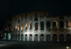 Colosseum under moonlight (SagarMohanty) Tags: italy rome monument europe colosseum moonlight gladiator