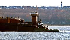 Barge: Mississippi & Tug: Leigh Ann Moran (Nicober!!!) Tags: canada river mississippi ship quebec stlawrence ann tug stlaurent leigh moran barge fleuve remorqueur