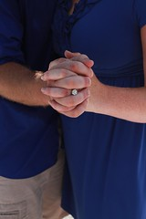ENGAGED (alxinhim2) Tags: blue love beautiful happy engagement hands couple florida yes ring proposal engaged proposed