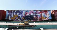 Nekst (quiet-silence) Tags: railroad art train graffiti railcar boxcar graff d30 freight nekst ttx wholecar rbox fr8 dirty30 railbox a2m rbox36131