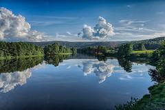 IMGP3764_HDR (jarle.kvam) Tags: speiling reflection norway simonstad mli river cloudporn