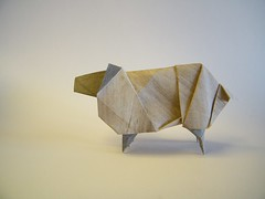Sheep  Andrew Hudson (Rui.Roda) Tags: origami papiroflexia papierfalten mouton ovelha oveja sheep andrew hudson