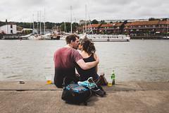 Cottage Kiss (gothick_matt) Tags: uk bristol pub couple unitedkingdom harbour cottage steps places harbourside floatingharbour 2016 hotwells harbourfestival bristolharbourfestival cottagesteps