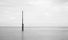 Paal (Koen Adriaenssen) Tags: sea belgium nature landscape water life wildlife beautiful beaty rest raw nd 110 bw canon 7d sigma 35 14 long exposure nieuwpoort new port
