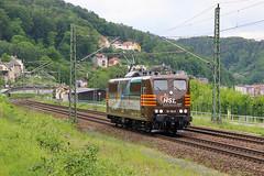 151 145-0 (Piotr Kozlowski) Tags: hsl knigstein elbtalbahn kbs241 151 151145