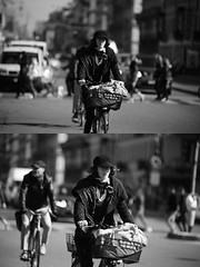 [La Mia Citt][Pedala] (Urca) Tags: milano italia 2016 bicicletta pedalare ciclista ritrattostradale portrait dittico bike bicycle biancoenero blackandwhite bn bw 872162