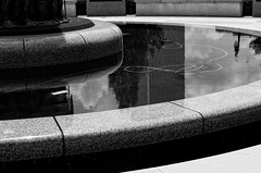 from there to here (fallsroad) Tags: johnhopefranklin reconciliationpark greenwood pool fountain massacre 1921 memorial tulsaoklahoma city bw blackandwhite nikond7000