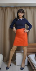 DSC08773 (mimo-momo) Tags: crossdressing crossdresser crossdress transvestite japanese tightskirt