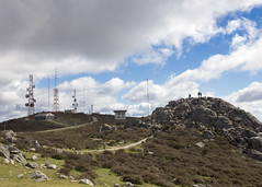 Serra de Monchique (Hans van der Boom) Tags: europe portugal algarve vacation holiday serr monchique mountain landscape mountains clouds antennas pt