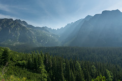 Jedno z ostatnich spojrze na Tatry (czargor) Tags: outdoor inthemountain mountians landscape nature tatry mountaint igerspoland