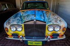 Pro Hart (DingoShoes - life's a dream) Tags: prohart artist painter extraordinaire car painting colours colourful brokenhill nsw australia outback rollsroyce nikon nikond7000 afsnikkor18105mm13556ged wanderlust
