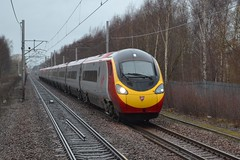 Photo of 390118 9M59 16:00 Glasgow Central - London Euston; Shieldmuir; 30-03-2015