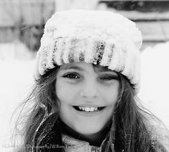 Snow Crown (uselessbay) Tags: winter portrait digital portraits children nikon fullframe blizzard uselessbay 2015 d700 uselessbayphotography williamtalley