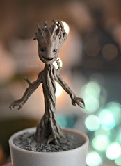 Baby Groot (Lawdeda ) Tags: baby 3 toy for miniature perfect size galaxy blythe 14th guardians groot iamgroot
