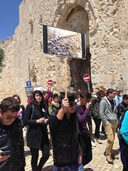Armenian Genocide Remembrance Day, Jerusalem (Jason A. Mark) Tags: old city never saint james day cathedral flag jerusalem again april 24 remembrance genocide armenian