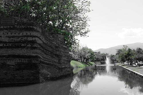 Chiang Mai old city Sri Phum corner