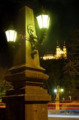 Streetlights (mattrkeyworth) Tags: käppele chapel laterne lights sonya7r würzburg balthasarneumann sel55f18z lightstream lion löwe night nacht nuit mattrkeyworth germany deutschland sonnartfe1855 nightset zeiss