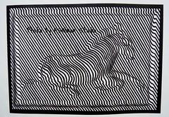 ZEBRA (1939)  Victor Vasarely, Fondation Vasarely  Aix en Provence (johnslides//199) Tags: paris france art museum architecture design blackwhite noiretblanc kunst aixenprovence nb moderne musee paca exposition showroom zebra bauhaus provence lecorbusier gordes southoffrance exibition vasarely vaucluse modules austellung abstrait visuel graphisme zebre havas fondationvasarely cubisme scharzweiss poart graphiste artabstrait abstraktkunst devambez effetsvisuels logorenault fsalmonstudio agencespublicitaitres museevasarely