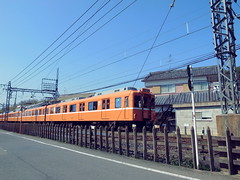 Kashihara City   6020 6051F  (: : Ys [waiz] : :) Tags: ricoh grd grd4   nara  kashihara  japan   kintetsu  train railfan railway 6020 vehicle
