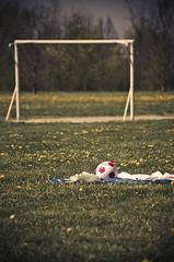 (StewieVoodoo) Tags: park parco primavera nature vintage spring nikon flickr soccer natura porta fiori prato calcio palla trezzanosulnaviglio d5100 parcocentenario