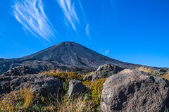 mt. ngauruhoe (nzfisher) Tags: newzealand sky mountain clouds canon landscape volcano nationalpark rocks alpine 24mm wilderness ngauruhoe mtngauruhoe tangarirocrossing tangarironationalpark