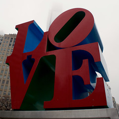 LOVE (sam.crowther) Tags: park red love philadelphia lovepark philly monuments sculptures lovesign