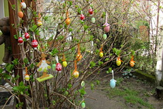 Hsvtfa / Easter Tree (debreczeniemoke) Tags: tree garden easter fa easterbunny kert easteregg easterrabbit easterhare eastertree hsvt nyuszi hsvtitojs canonpowershotsx20is hsvtfa rabbitbringingeasteregg