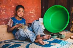 Dal bhat (Daniele Zanni) Tags: travel nepal boy kid google flickr facebook nepali squarespace 500px iceboxcool x100s