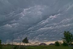 Mammatus Cloud Formation (Stephen J Pollard (Loud Music Lover of Nature)) Tags: sky storm weather clouds cielo nubes tormenta tiempo clima mammatusclouds nubesmastodónticas