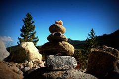 Balance (h.anderle) Tags: travel blue 20d rock stone canon climb holga colorado rocks stones canon20d dramatic bluesky pebbles hike pebble balance stark theview canonista travelphotog picmonkey