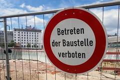 Baustelle Bahnhofsplatz 60 (Susanne Schweers) Tags: max baustelle architektur bremen gebude architekt citygate hochhuser bahnhofsplatz dudler bebauung