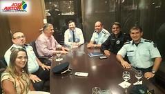 No Palcio da Abolio, o deputado federal Jos Arton Cirilo (PT-CE), acompanhado do Major Roberto Sousa e uma comisso de Oficiais da Polcia Militar do Cear, foram recebidos em audincia na tarde de segunda-feira, (18), pelo chefe de gabinete do gover (joseairton1333) Tags: leidaspromoes pm cear