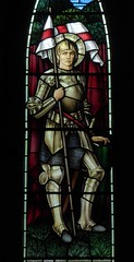 St George (Aidan McRae Thomson) Tags: lichfield church staffordshire stainedglass window preraphaelite morrisco johnhenrydearle