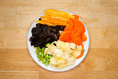 Chinese Dish (Yongqiang Li) Tags: vegetable asian bean dish eat background healthy red culture food cook woodear cuisine carrot dinner black white chinese egg delicious traditional