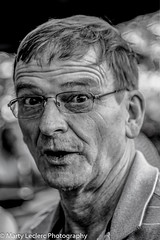 Hey dude !!! (Marty 1955 ...) Tags: blackwhite candid portrait people photos man martyleclercphotography glasses faces street streetshots
