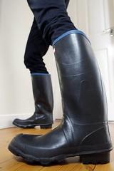 Century Wednesday (essex_mud_explorer) Tags: black century vintage boots rubber wellington wellingtonboots welly wellies rubberboots rainwear gummistiefel wellingtons gumboots madeinbritain rainboots uniroyal rubberlaarzen