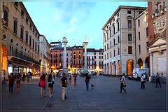 Vicenza at blue hour... (T.S.Photo (Teodor Sirbu)) Tags: italia vicenza architecture blue hour magic light piazza square town evening night summer holydays travel medieval renaissence veneto venezia baroque