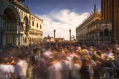 Crowded on St. Mark's Square (ludwigriml) Tags: longexposure venice people italy crowd venezia sanmarco crowded piazzasanmarco stmarkssquare naturallightphotography ludwigrilmlphotography ludwigrilmlnaturallightphotography