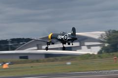 Vought F4U Corsair-15 (Clubber_Lang) Tags: airshow corsair farnborough f4u vought fia2016