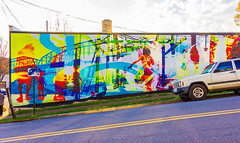 NorthShore Mural (Eridony) Tags: chattanooga hamiltoncounty tennessee northshore art mural wall