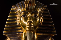Tutankhamun's death mask (max.fontanelli) Tags: king treasure tomb egypt re tesoro tomba egitto oro tutankhamun pharaon golg faraone