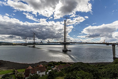 Queensferry Crossing from Forth Bridge (Jistfoties) Tags: forthbridges forth bridge pictorialrecord civilengineering southqueensferry northqueensferry riverforth