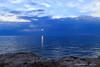 Spiraglio nell'immenso blu (Antonio Ciriello PhotoEos) Tags: mare sea seascapes paesaggi marini paesaggimarini summer estate icesea ice ghiaccio blue blu white bianco scogli rocks cliff nuvole clouds sanvito puglia san vito taranto apulia italia italy cloudy nuvoloso canoneos600d eos600d 600d rebelt3i riflessi reflections tamron 1750 tamron1750 spiraglio sole sun
