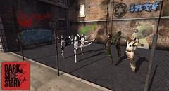 Dark Side Story (Noddington Schmooz) Tags: secondlife sl noddingtonschmooz noddington starwars westsidestory humour