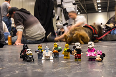 Wrong cosplay (Ballou34) Tags: 2016 650d afol ballou34 canon eos eos650d flickr lego legographer legography minifigures photography rebelt4i stuckinplastic t4i toy toyphotography toys rebel stuck plastic star wars starwars stormtrooper stormtroopers london londres starwarscelebration celebration mickey minnie mouse darth vader r2d2 c3po bobba fett