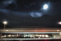 Stumbling upon a dream (syderianus) Tags: cielo stellato trasparenza mosso creativo roma rome notturno ponte sisto nikon d800