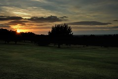 Sundowner (smcnally24601) Tags: epsom downs surrey britain race course evening sunset